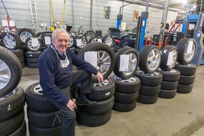 Rob Scherf stopt met zijn autobedrijf.