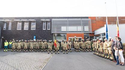 Minuut stilte en Last Post in alle kazernes Vlaamse Ardennen voor verongelukte collega-brandweermannen