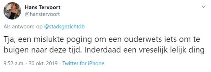 Tweets over gebakkraam