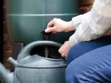 Goes start duurzaamheidscampagne: regenton voor een prikkie