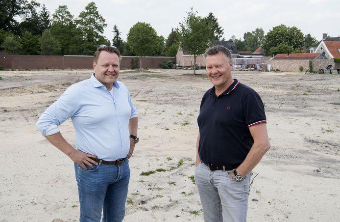 Jurgen Keizers, rechts, met naast zich zijn broer Eric, eveneens directeur van ESS.