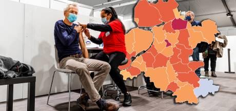 KAART | Minder nieuwe besmettingen in regio: opvallende daling Urk, Staphorst bovenaan