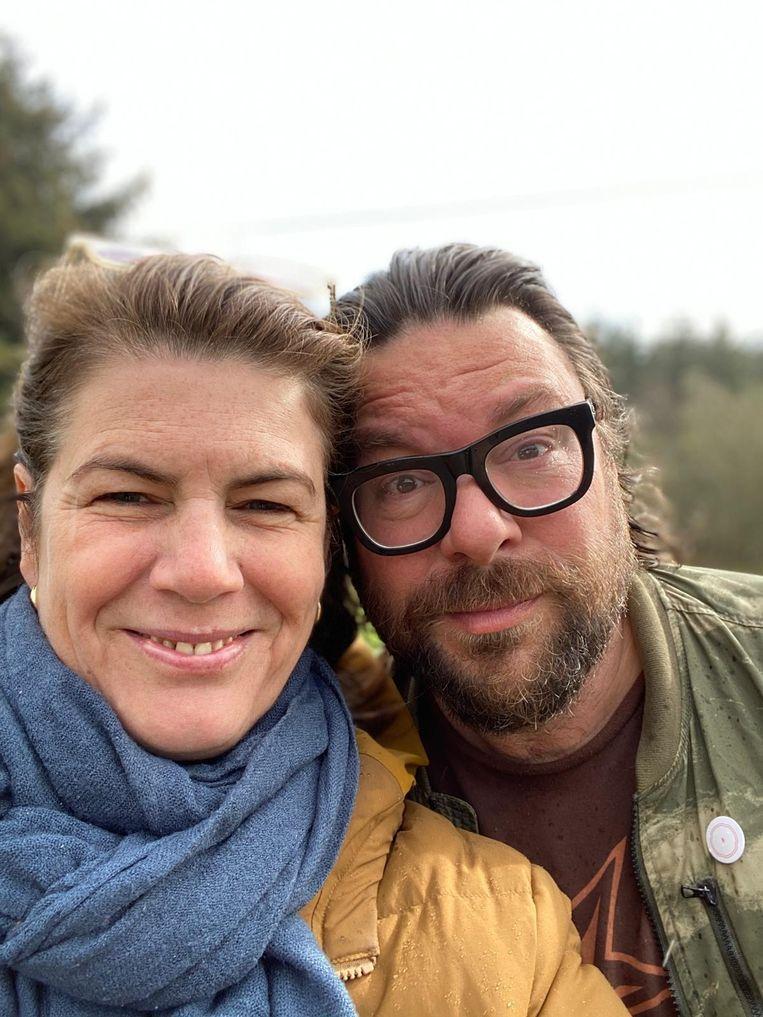 Yvette van Boven en Oof Verschuren Beeld Privéfoto