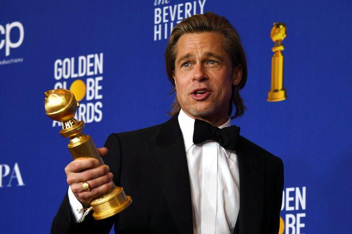 Brad Pitt viel dit jaar nog in de prijzen op de Golden Globes.