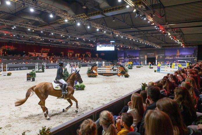 Jumping Zwolle 2019 in de IJsselhallen.