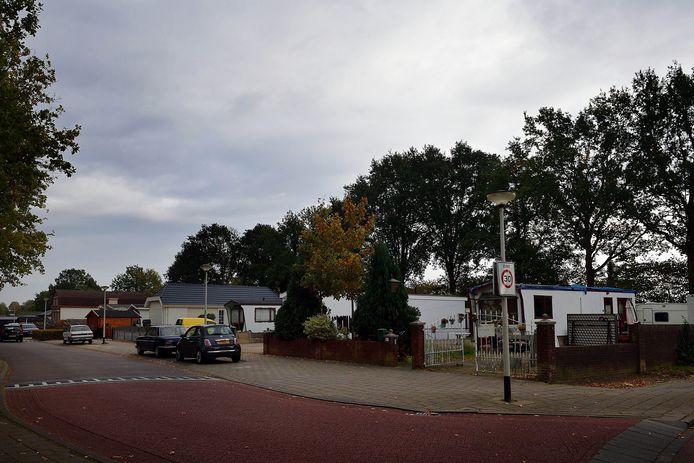 Op het kamp aan de Sportstraat komen twee extra standplaatsen.