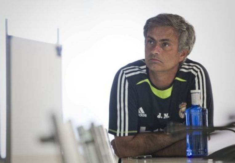 De Portugese trainer José Mourinho. ANP Beeld