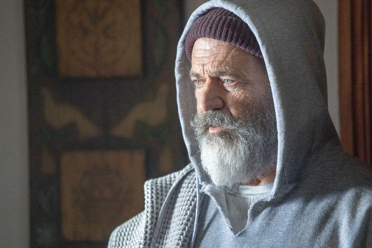 Mel Gibson als de kerstman. Beeld