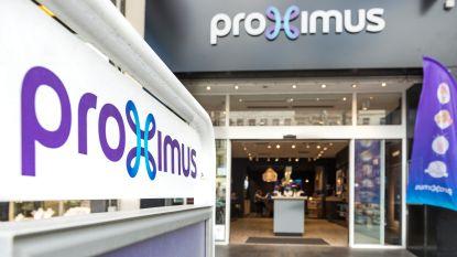 Storing treft mobiel netwerk Proximus