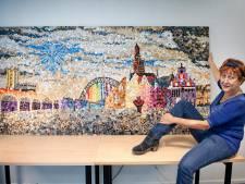 'Schilderij' van knopen als ode aan Nijmegen