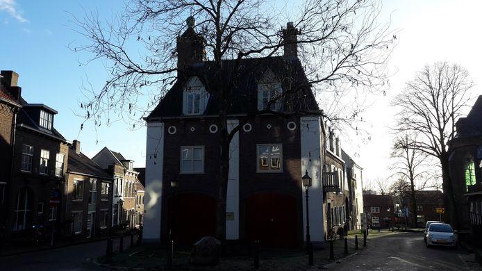 De oude brandweerkazerne in Rhenen, waar tot voor kort museum het Rondeel nog in zat