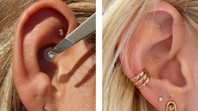 Evenveel blingbling als een piercing, evenveel effect als acupunctuur. Wat is 'ear seeding'?