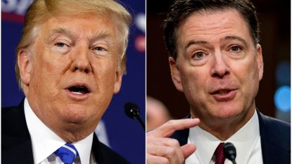 "Trump na e-mailaffaire: ""Slotrapport is complete ramp voor Comey en FBI"""