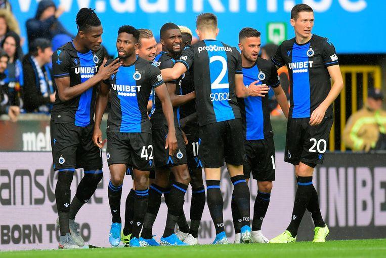 Club Brugge is landskampioen, nu de competitie na speeldag 29 niet meer wordt hervat. Beeld Photo News