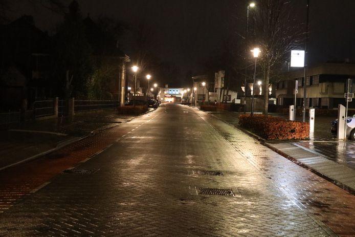 Verlaten straten in Waalwijk.
