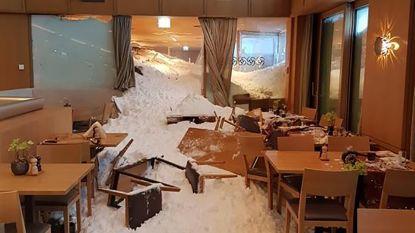 Sneeuwlawine dondert Zwitsers hotel binnen: meerdere gewonden