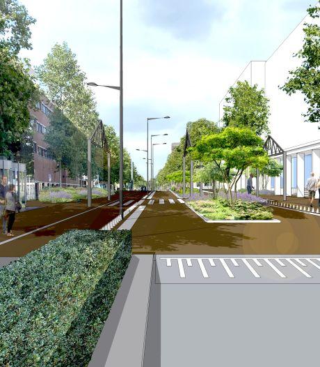 Onderwijsboulevard gaat in twee fases op de schop: ruim baan voor fietsers en voetgangers
