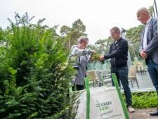 Strijden tegen kanker vanuit de eigen tuin in Harderwijk: 'Supermooi'