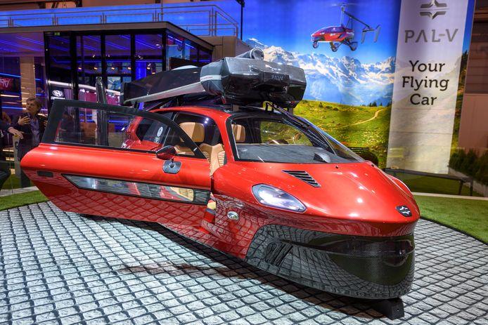 Een prototype van de PAL-V, die naar alle waarschijnlijkheid naar Oostende komt.