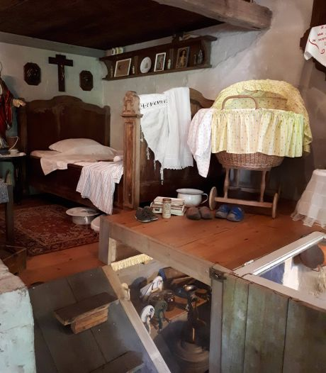 Soms zie je iets gebeuren in de ogen van bezoekers boerenmuseum D'n Aachterum in Diessen