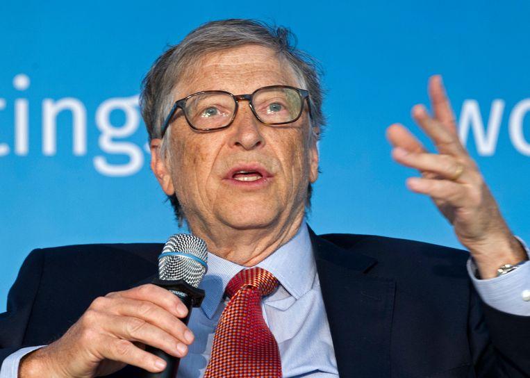 Zit Bill Gates achter het virus? Beeld AP