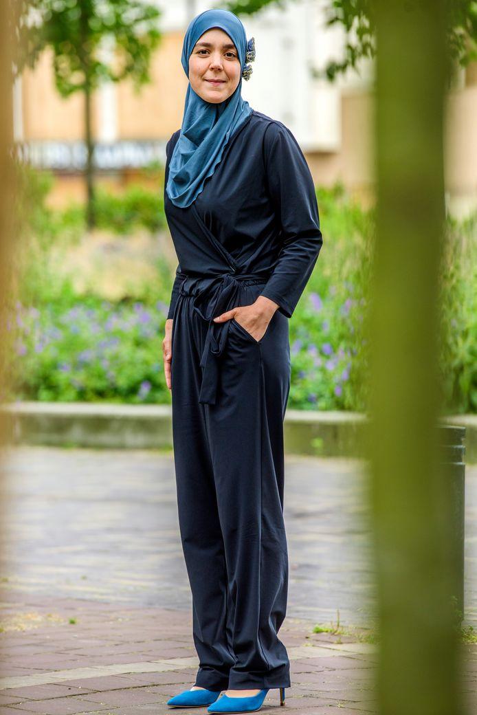 Esmah Lahlah, nieuw gezicht in het Tilburgse stadsbestuur.