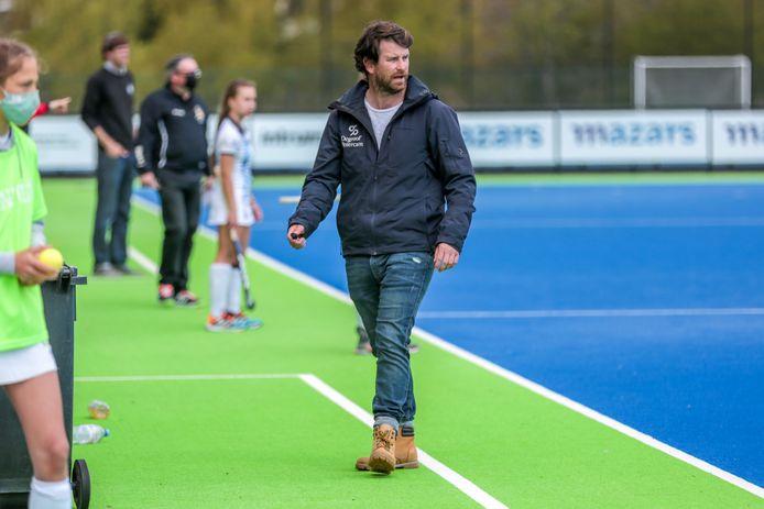 Coach Kevan Demartinis staat met Gantoise dit weekend in de play-offfinales twee keer tegenover Dragons.