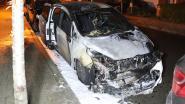 Auto in brand gestoken in Moretusstraat