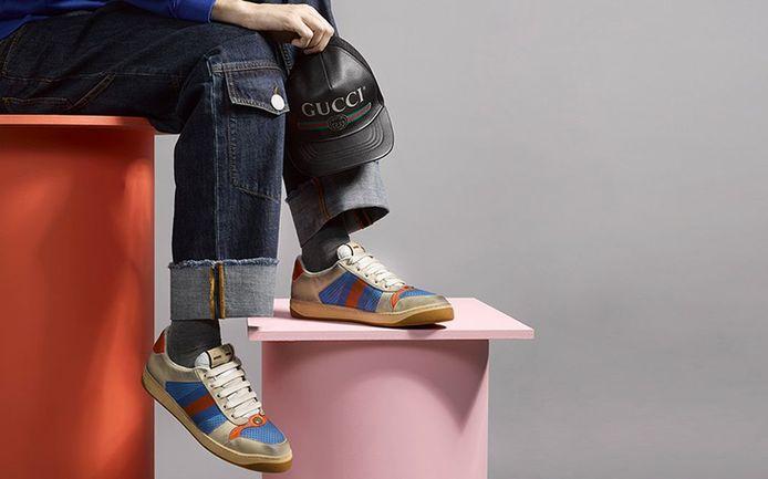 De bewuste vuile sneakers van Gucci.
