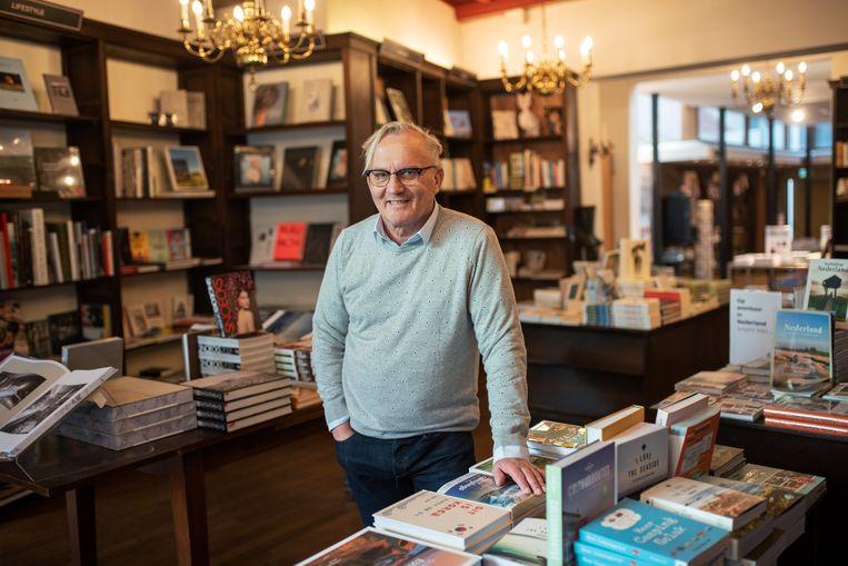 Daan van der Valk: 'Poëzie is belangrijk, maar moeilijk te verkopen.'  Beeld Sabine Van Wechem
