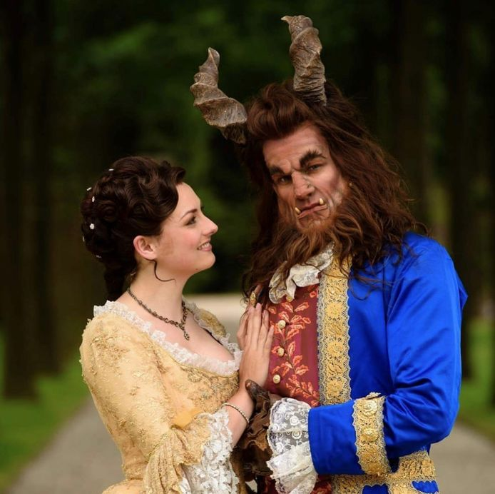 Roox als het Beest in Beauty and the Beast.