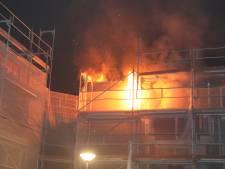 brand in portiekwoning Voorburg geblust