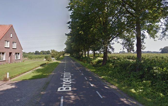 Voor de aanleg van een fietspad langs de Broekzijde, van Moergestel naar Haghorst, moesten in 2020 83 bomen gekapt worden