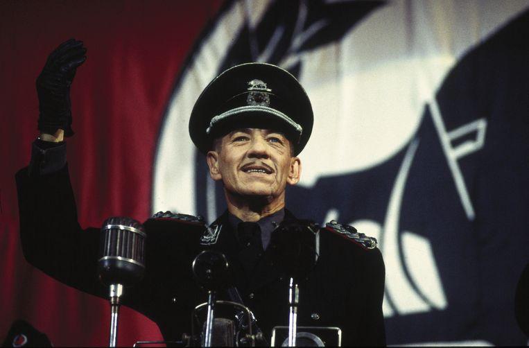 Ian McKellen als een fascistische Richard III in de verfilming uit 1995. Beeld rv