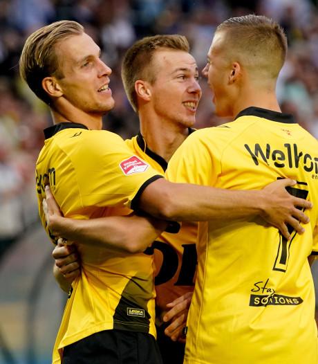 NAC haalt uit tegen Helmond Sport, ook De Graafschap en FC Eindhoven winnen