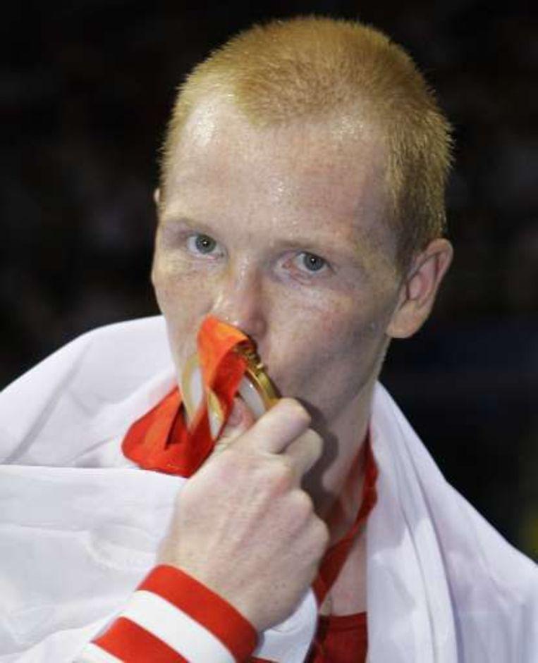 Alexey Tishchenko, goud bij de lichtgewichten. Beeld UNKNOWN