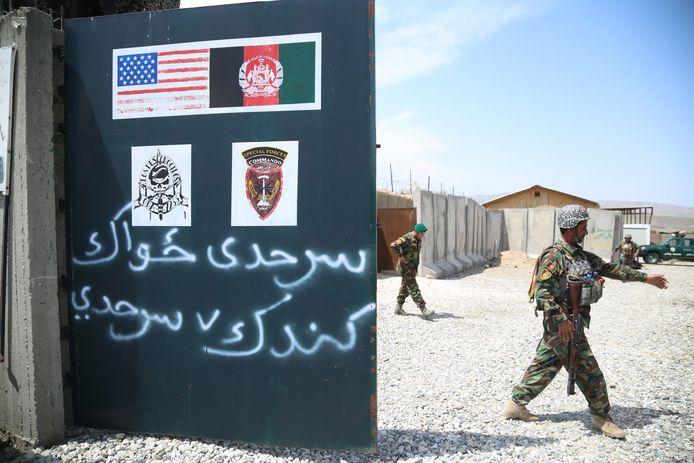 Amerikaanse troepen in Afghanistan.