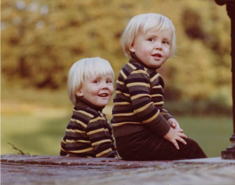 Met grote broer Willem-Alexander. Beeld RVD / Max Koot