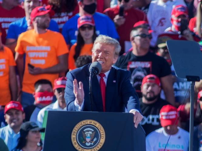 """VERKIEZINGSBLOG. Trump houdt rally in Arizona ondanks kritiek - Fauci: """"Zeker geen coronavaccin in VS voor januari"""""""