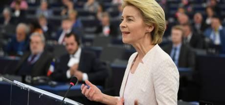 Von der Leyen nieuwe voorzitter Europese Commissie