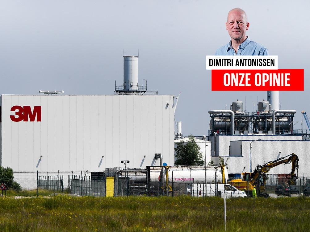 De 3M fabriek in Zwijndrecht.