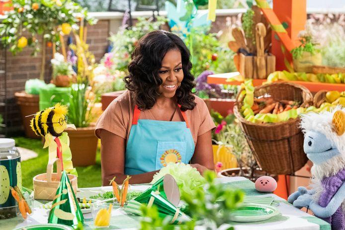 Michelle Obama in Wafeltje & Mochi.