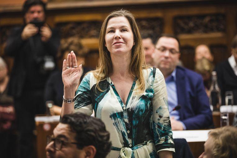 Sara Matthieu wordt fractieleider van Groen