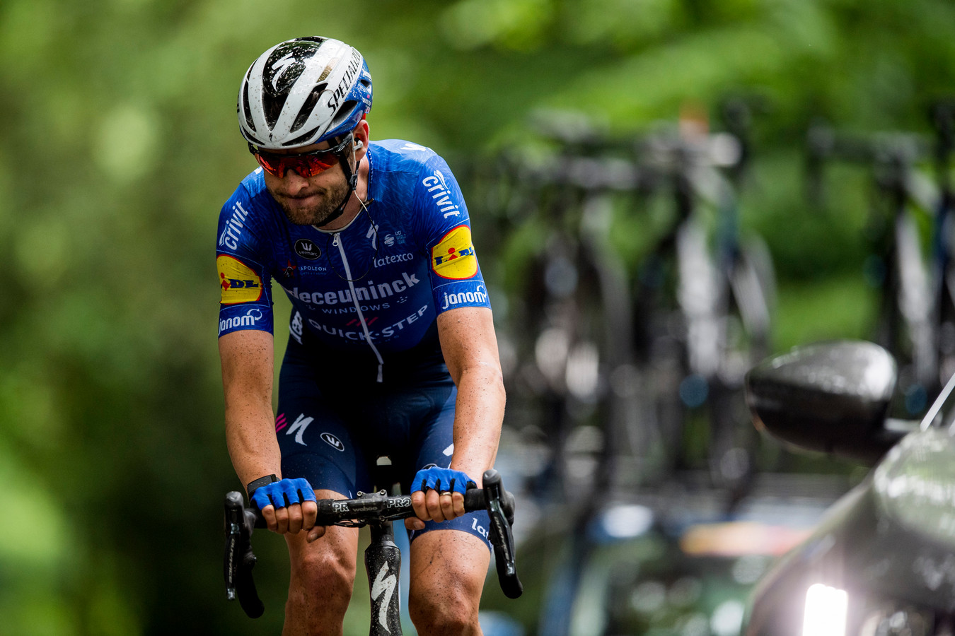 Pieter Serry reed twee weken geleden Dwars door het Hageland, een wedstrijd die te kort na het einde van de Giro kwam.