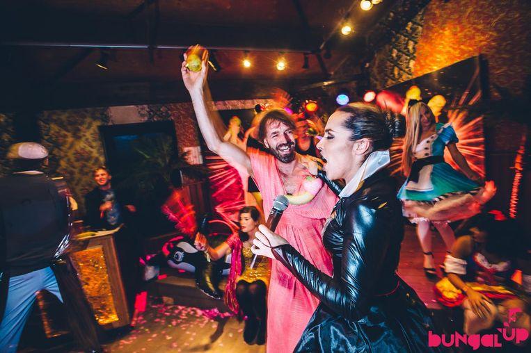 De organisatie van Bungalup is terug met een feest in Paradiso. Beeld Dennis Bouman
