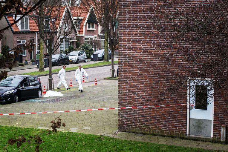 Op 20 februari 2014 werd Alexander Gillis in Zaandam geliquideerd.  Beeld Maarten Brante/ANP
