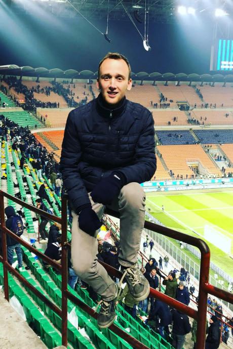 Richard uit Deurningen reist dag in, dag uit naar voetbalstadions in Europa