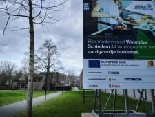 Het regent klachten over verbouwing complex aan Jacques Urlusplein Schiedam