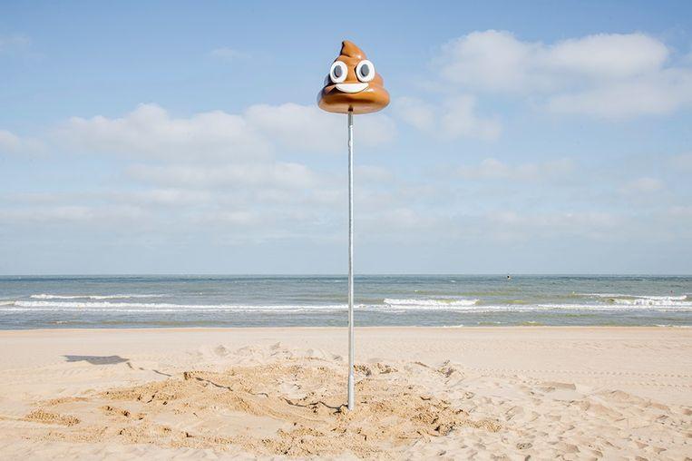 De verdwaalpaal die Oostende afgelopen zomer in de kijker plaatste