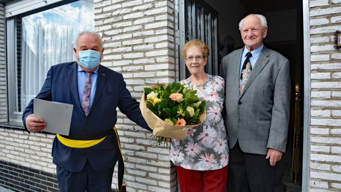Willy en Mariette vieren diamanten jubileum